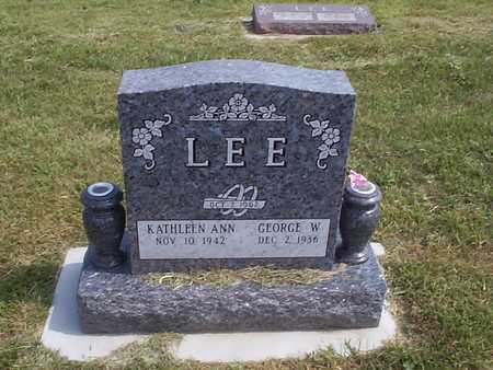 LEE, GEORGE W. - Pottawattamie County, Iowa | GEORGE W. LEE
