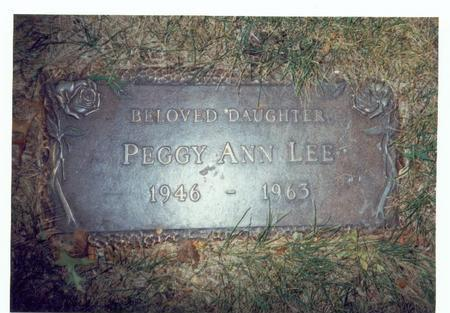LEE, PEGGY ANN - Pottawattamie County, Iowa | PEGGY ANN LEE
