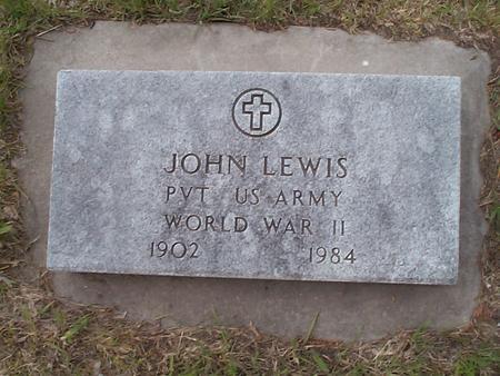 LEWIS, JOHN - Pottawattamie County, Iowa | JOHN LEWIS
