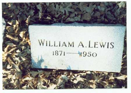 LEWIS, WILLIAM A. - Pottawattamie County, Iowa | WILLIAM A. LEWIS