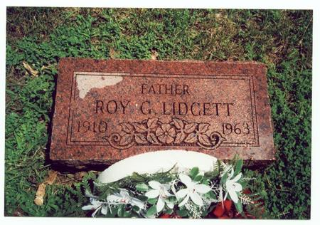 LIDGETT, ROY G. - Pottawattamie County, Iowa | ROY G. LIDGETT