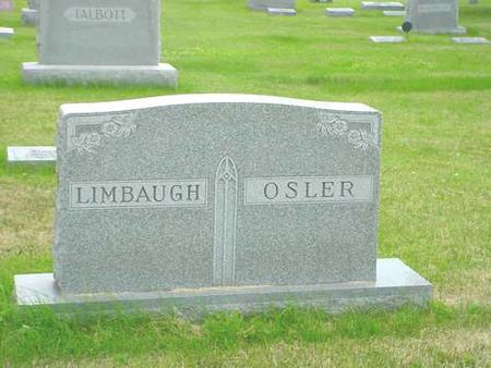 LIMBAUGH/OSLER, FAMILY - Pottawattamie County, Iowa | FAMILY LIMBAUGH/OSLER