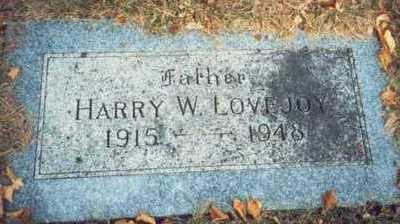 LOVEJOY, HARRY W. - Pottawattamie County, Iowa | HARRY W. LOVEJOY