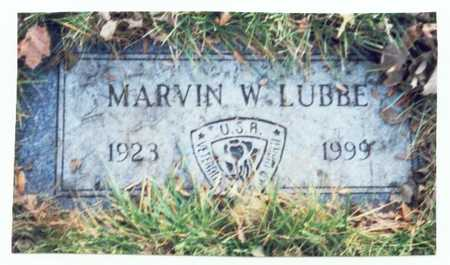 LUBBE, MARVIN W. - Pottawattamie County, Iowa | MARVIN W. LUBBE