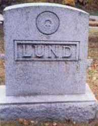LUND, FAMILY MARKER - Pottawattamie County, Iowa | FAMILY MARKER LUND