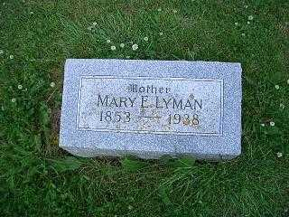 LYMAN, MARY E - Pottawattamie County, Iowa | MARY E LYMAN