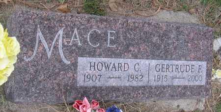 MACE, GERTRUDE F. - Pottawattamie County, Iowa | GERTRUDE F. MACE