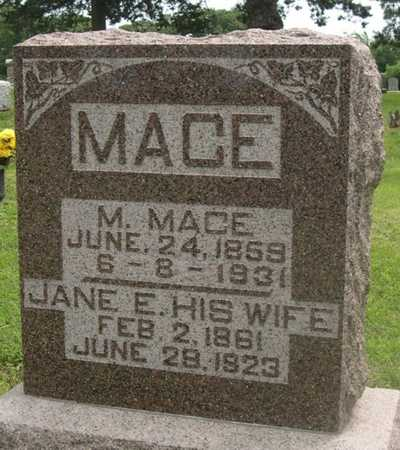 MACE, JANE E. - Pottawattamie County, Iowa | JANE E. MACE