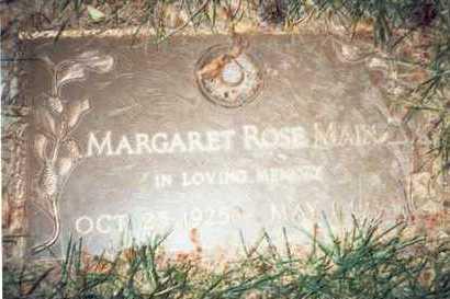 MAIN, MARGARET ROSE - Pottawattamie County, Iowa | MARGARET ROSE MAIN