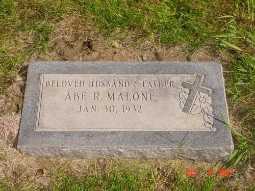 MALONE, ABE R. - Pottawattamie County, Iowa | ABE R. MALONE