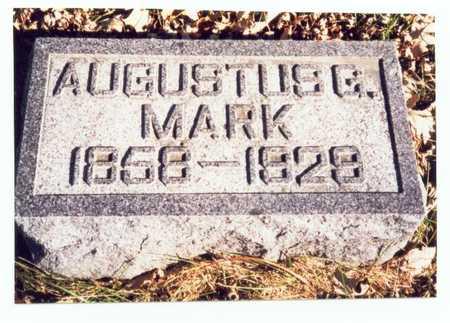 MARK, AUGUSTUS G. - Pottawattamie County, Iowa | AUGUSTUS G. MARK