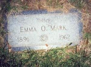MARK, EMMA O. - Pottawattamie County, Iowa   EMMA O. MARK