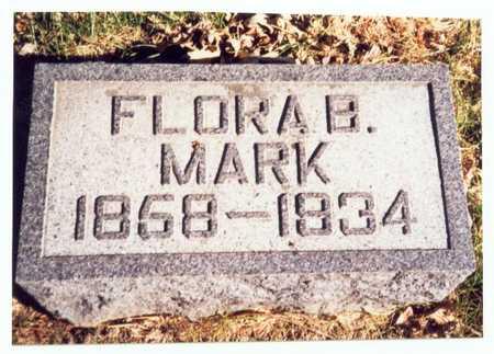MARK, FLORA BELLE - Pottawattamie County, Iowa   FLORA BELLE MARK