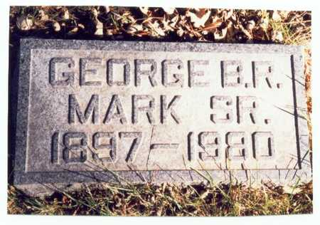MARK, GEORGE B.R. SR. - Pottawattamie County, Iowa | GEORGE B.R. SR. MARK
