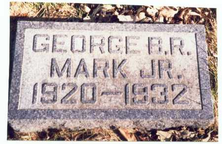 MARK, GEORGE B.R. JR. - Pottawattamie County, Iowa | GEORGE B.R. JR. MARK