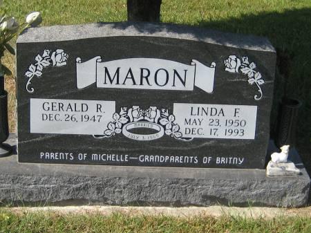MARON, LINDA F. - Pottawattamie County, Iowa | LINDA F. MARON