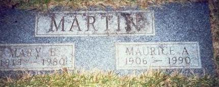 MARTIN, MARY ELLEN - Pottawattamie County, Iowa | MARY ELLEN MARTIN