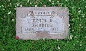 MCBRIDE, ETHEL - Pottawattamie County, Iowa | ETHEL MCBRIDE