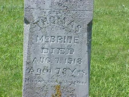 MCBRIDE, THOMAS - Pottawattamie County, Iowa | THOMAS MCBRIDE