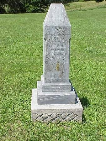 MCBRIDE, THOMAS [HEADSTONE] - Pottawattamie County, Iowa | THOMAS [HEADSTONE] MCBRIDE