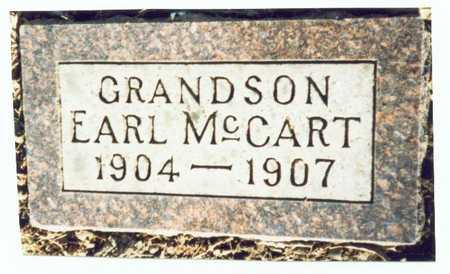 MCCART, EARL - Pottawattamie County, Iowa | EARL MCCART