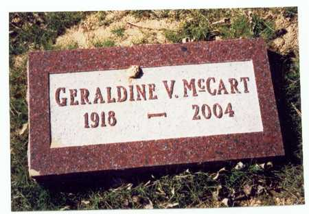 MCCART, GERALDINE VIVIAN - Pottawattamie County, Iowa | GERALDINE VIVIAN MCCART