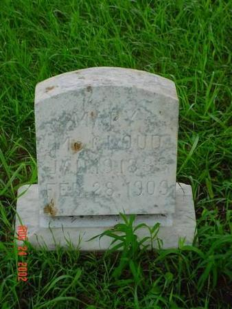 MCCLOUD, MARY - Pottawattamie County, Iowa | MARY MCCLOUD