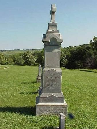 MCCRICKARD, HEADSTONE - Pottawattamie County, Iowa | HEADSTONE MCCRICKARD