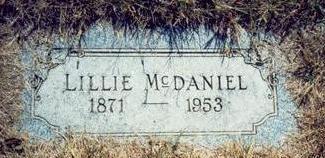 MCDANIEL, LILLIE - Pottawattamie County, Iowa | LILLIE MCDANIEL