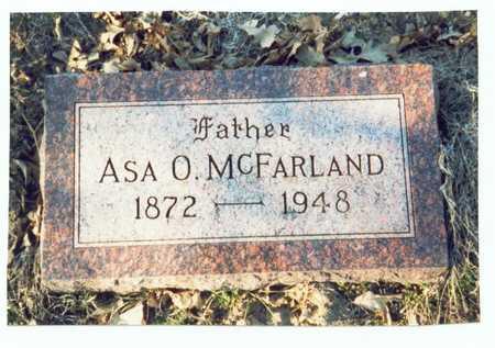 MCFARLAND, ASA OMER - Pottawattamie County, Iowa | ASA OMER MCFARLAND