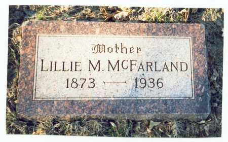 HIGGINS MCFARLAND, LILLIE MAY - Pottawattamie County, Iowa | LILLIE MAY HIGGINS MCFARLAND