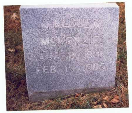 MCKENZIE, MALCOLM - Pottawattamie County, Iowa | MALCOLM MCKENZIE