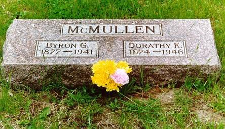 MCMULLEN, BYRON G. & DORATHY C. (SEWING) - Pottawattamie County, Iowa | BYRON G. & DORATHY C. (SEWING) MCMULLEN