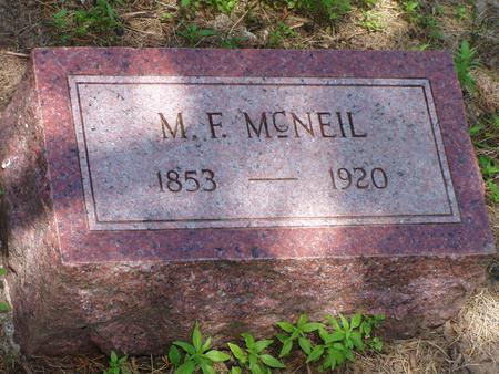 MCNEIL, MENZO F - Pottawattamie County, Iowa | MENZO F MCNEIL