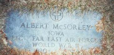 MCSORLEY, ALBERT - Pottawattamie County, Iowa | ALBERT MCSORLEY