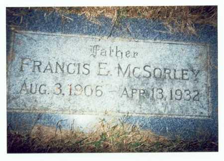 MCSORLEY, FRANCIS E. - Pottawattamie County, Iowa | FRANCIS E. MCSORLEY
