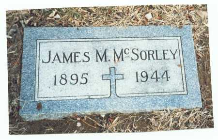 MCSORLEY, JAMES M. - Pottawattamie County, Iowa | JAMES M. MCSORLEY
