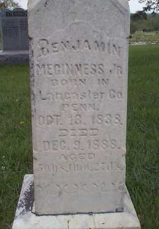 MEGINNES, BENJAMIN JR. - Pottawattamie County, Iowa | BENJAMIN JR. MEGINNES