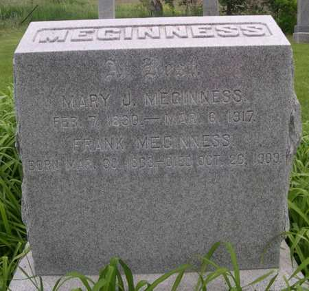 MEGINNESS, FRANK - Pottawattamie County, Iowa | FRANK MEGINNESS