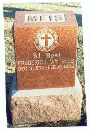 MEIS, FREDERICK WILLIAM - Pottawattamie County, Iowa | FREDERICK WILLIAM MEIS