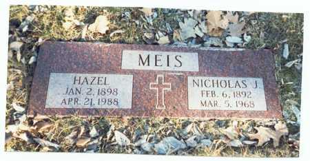 MEIS, HAZEL DELLA - Pottawattamie County, Iowa | HAZEL DELLA MEIS