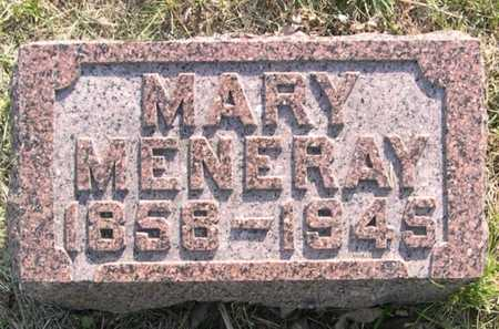 MENERAY, MARY - Pottawattamie County, Iowa | MARY MENERAY