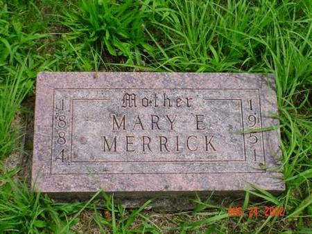 MERRICK, MARY E. - Pottawattamie County, Iowa | MARY E. MERRICK