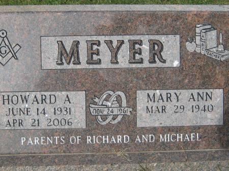 MEYER, HOWARD A. - Pottawattamie County, Iowa | HOWARD A. MEYER