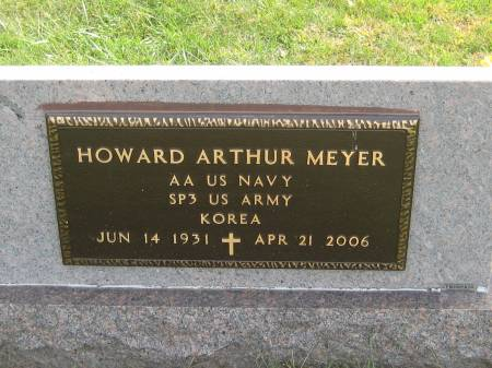MEYER, HOWARD ARTHUR - Pottawattamie County, Iowa | HOWARD ARTHUR MEYER