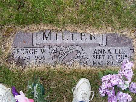 MILLER, ANNA LEE - Pottawattamie County, Iowa | ANNA LEE MILLER