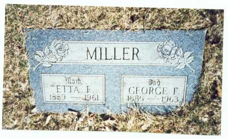 MILLER, GEORGE F. - Pottawattamie County, Iowa | GEORGE F. MILLER