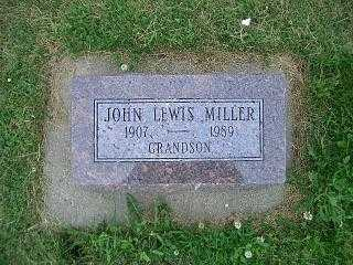 MILLER, JOHN LEWIS - Pottawattamie County, Iowa | JOHN LEWIS MILLER