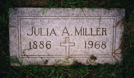 MILLER, JULIA - Pottawattamie County, Iowa | JULIA MILLER