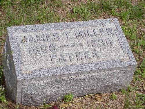 MILLER, JAMES T. - Pottawattamie County, Iowa | JAMES T. MILLER